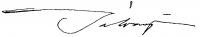 Bálványos, Huba Signature