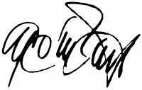 Gyémánt László aláírása