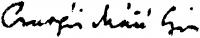 Csurgói Máté Lajos aláírása