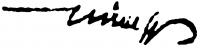 Hincz Gyula aláírása