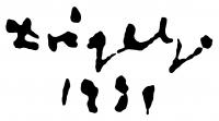 Drégely László aláírása