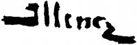 Illencz Lipót aláírása