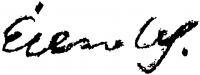 Élesdy István aláírása