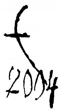 Erdélyi Eta aláírása