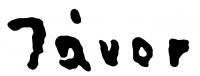 Jávor Pál aláírása