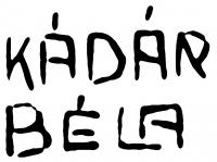 Kádár Béla aláírása