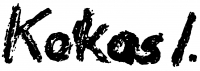 Kokas, Ignác Signature