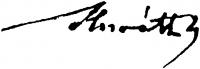 Horváth Béla aláírása