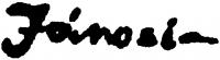 Jánosi Katalin aláírása