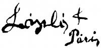 László Fülöp aláírása