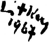 Litkey György aláírása