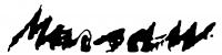 Marosán, Gyula Signature