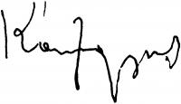 Konfár Gyula aláírása