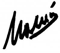 Molnár Sándor aláírása