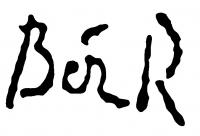 Bér Rudolf aláírása