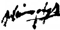 Náray, Aurél Signature