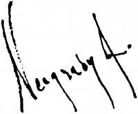 Neogrády Antal aláírása