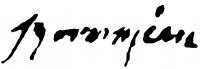 Boross Géza aláírása