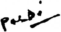 Böhm Lipót aláírása