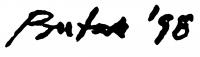 Butak, András Signature
