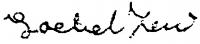 Paizs-Goebel Jenő aláírása