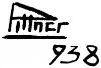 Pittner Olivér aláírása