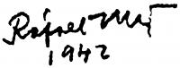 Rafael Győző Viktor aláírása