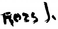 Rozs János aláírása