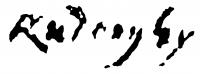 Rudnay, Gyula Signature
