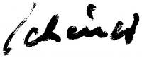 Schéner Mihály aláírása