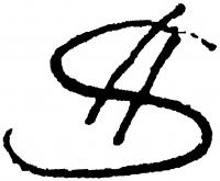 Schickedanz Albert aláírása