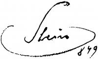 Sterio Károly aláírása