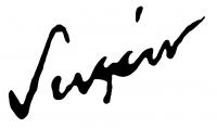 Sugár Andor aláírása