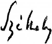 Székely, Bertalan Signature