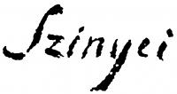Szinyei Merse Pál aláírása