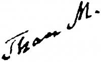 Than Mór aláírása