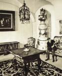 Fényes Adolf: Hatvany Ferenc a budapesti Schmidt-kastély (kiscelli kastély) egyik termében, 1910-es évek