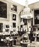Gróf Andrássy Géza budapest palotájának szalonja, 1911