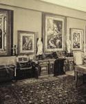 A budapesti Andrássy úti Herzog-palota Greco-szobája, 1930-as évek