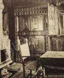 Hubay Jenő dolgozószobájának részlete, 1927