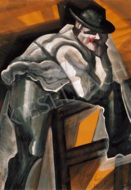 Scheiber, Hugó - Man in a Hat
