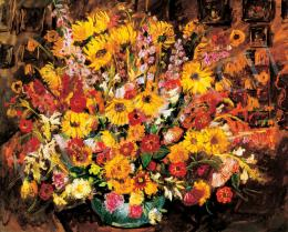 Basch Andor - Virágcsendélet