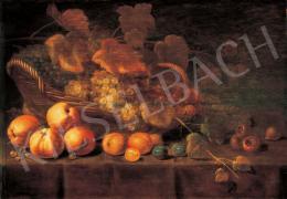 Németalföldi festő, 17. század - Gyümölcscsendélet