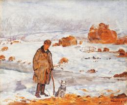 Kunffy, Lajos - Shepherd, 1921