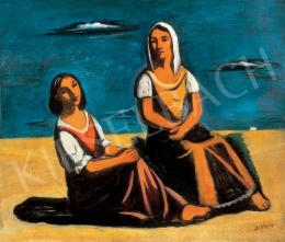 Bertalan, Albert - Girls on the Beach