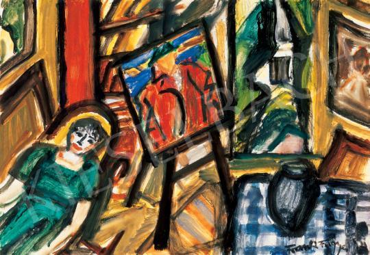 Frank Frigyes - Műteremben | 31. Aukció aukció / 216 tétel