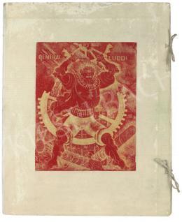 Uitz Béla - General Ludd mappa, 1923