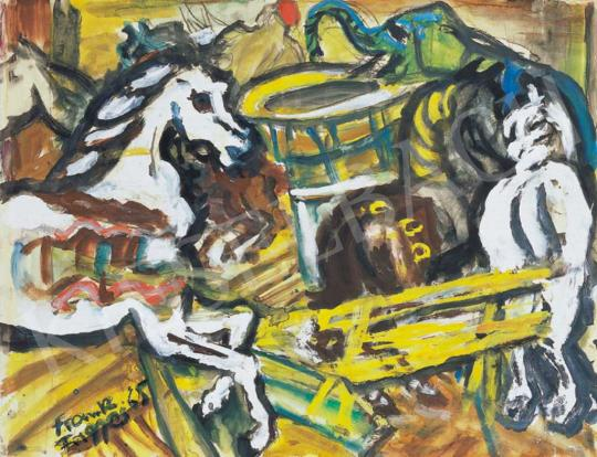 Frank Frigyes - Caroussel (Körhinta) | 32. Aukció aukció / 19 tétel