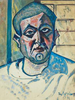 Scheiber, Hugó - Self-Portrait, early 1920s