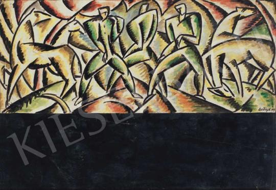 Bortnyik Sándor - Fából faragott királyfi, 1919 | 32. Aukció aukció / 34 tétel